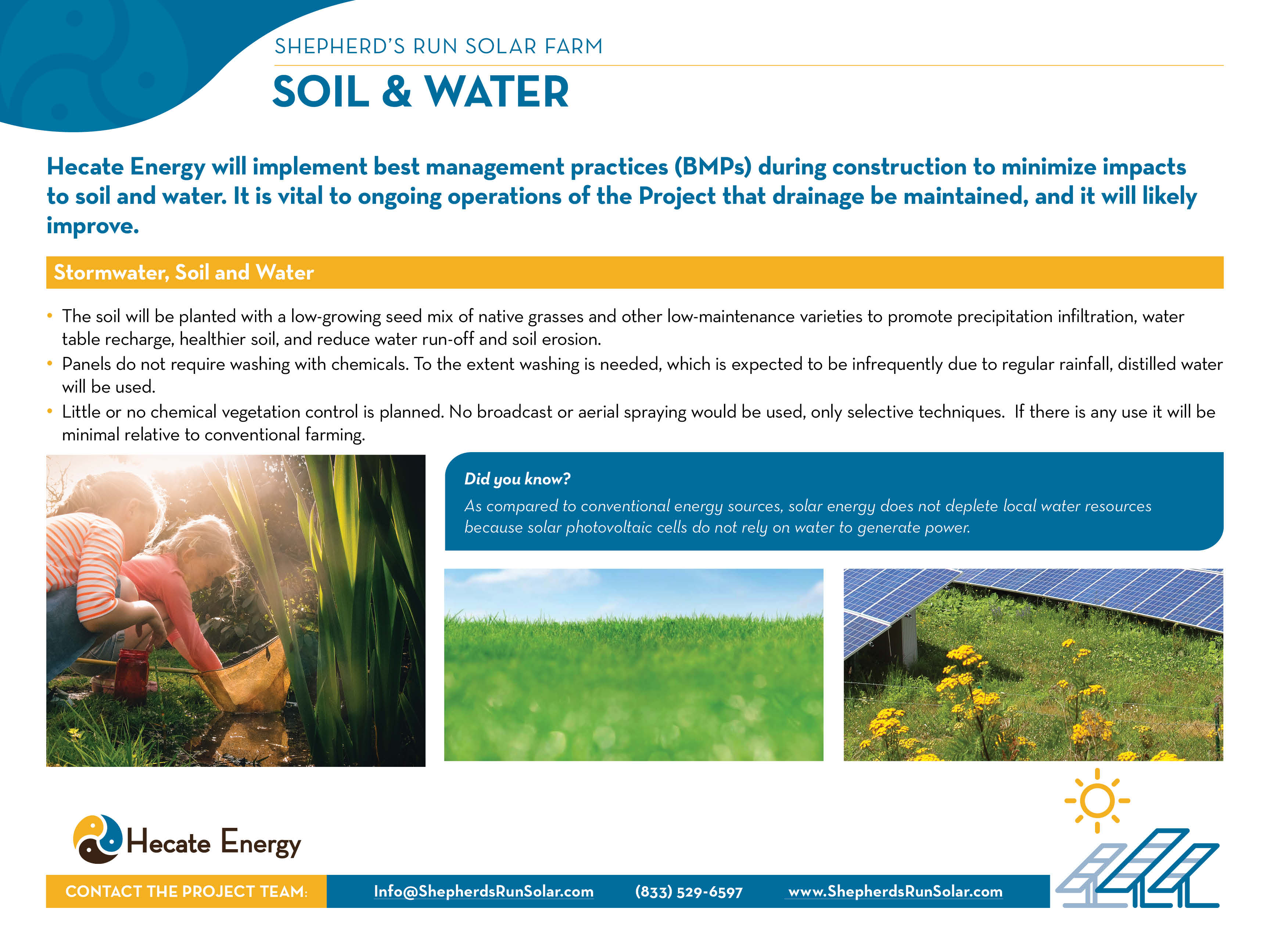 Soil and Water