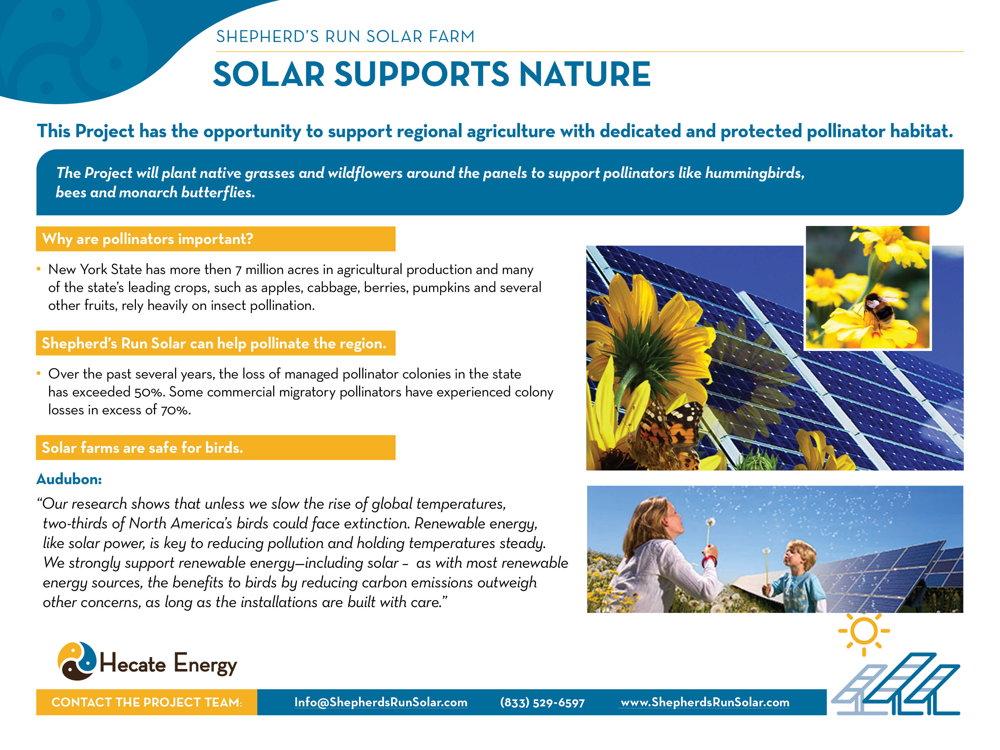 Solar Supports Nature