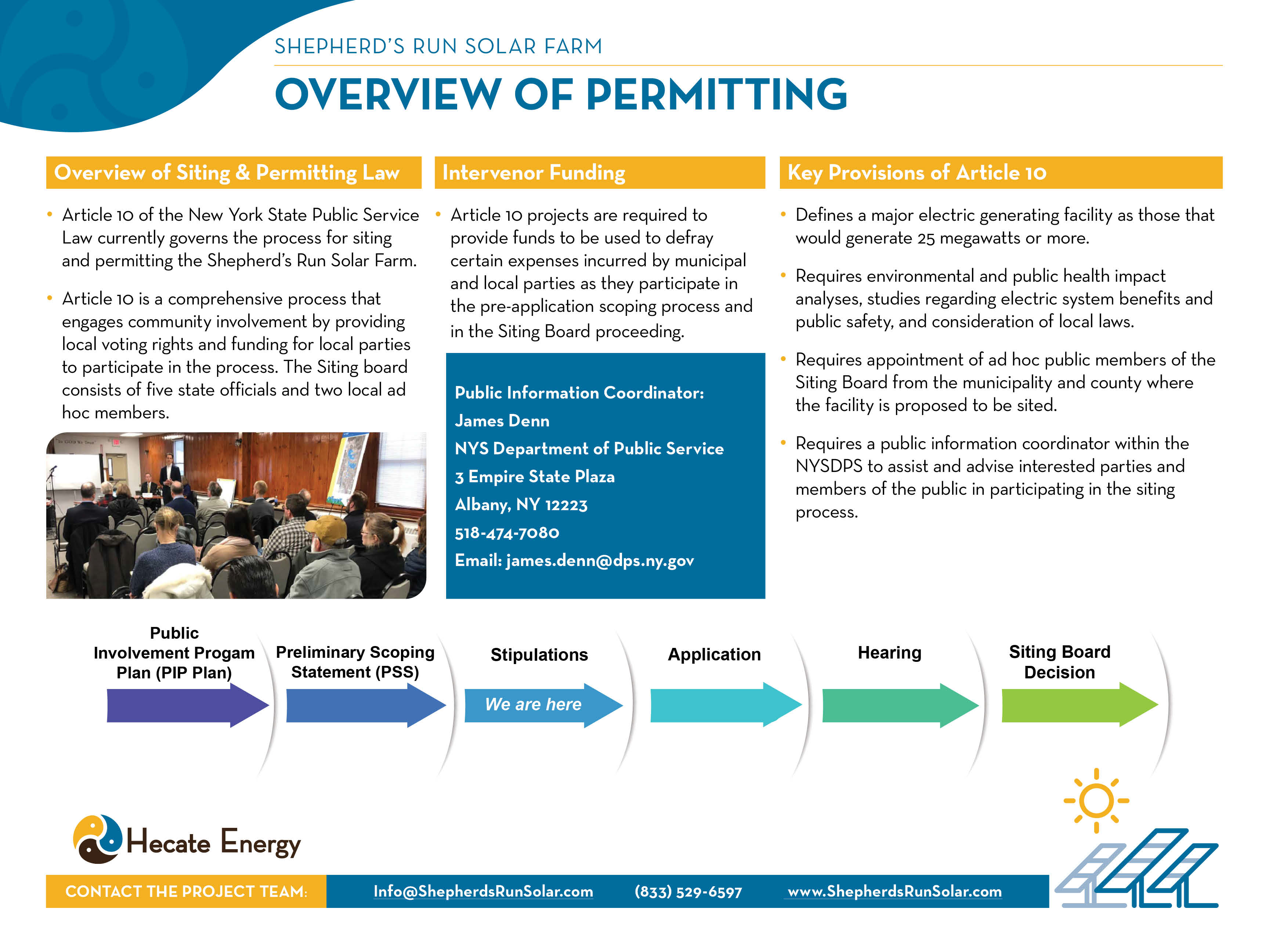 Overview of Permitting